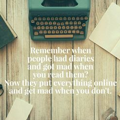 diary today